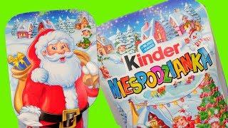 Kinder Niespodzianka • Elfy na pomoc Mikołajowi • Klocki Lego • bajka po polsku