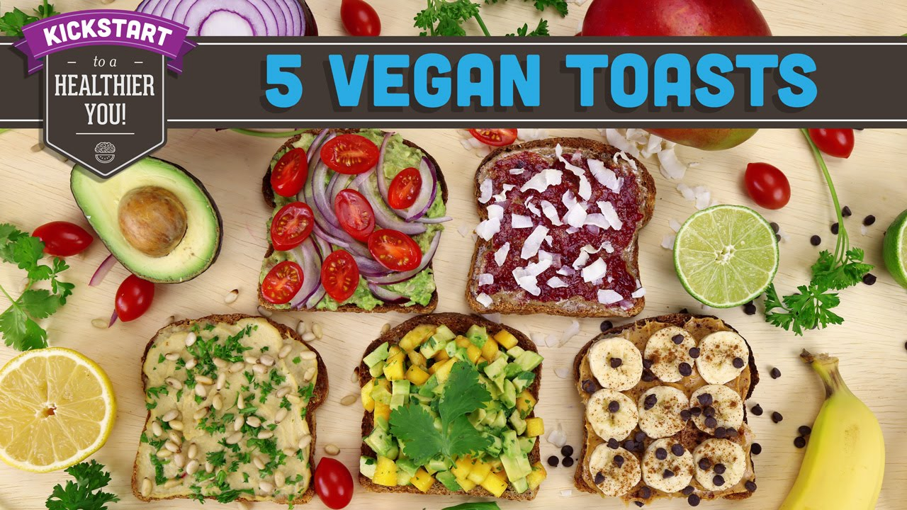 5 vegan toast recipes mind over munch kickstart 2016 youtube forumfinder Image collections