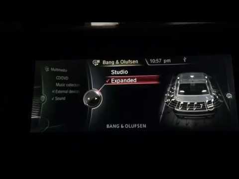 Bang & Olufsen Sound System Retrofitted in BMW 740i F01 2012