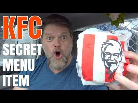 KFC Secret Menu Item - The Slider Stacker!  -  Mukbang Style