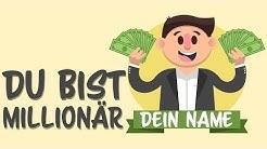 WAS WÄRE, WENN du eine MILLION Euro gewinnen würdest?