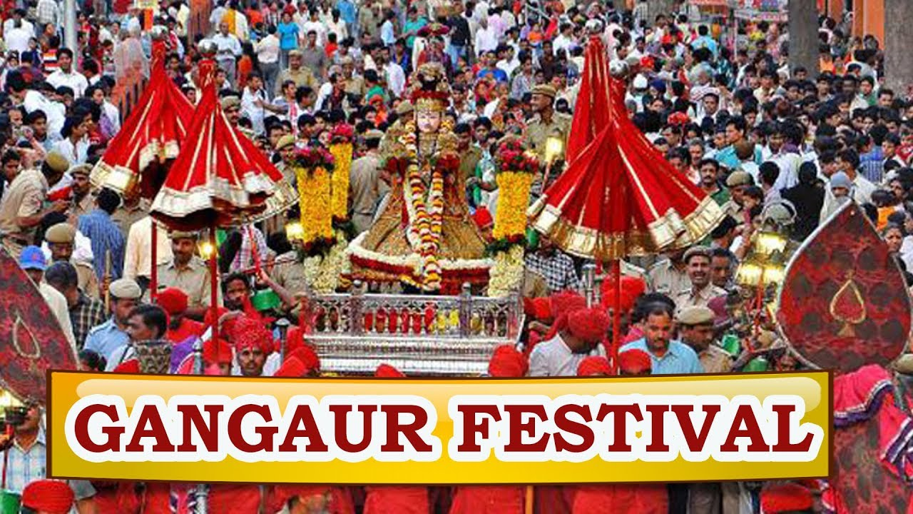 Rajasthan Tourism | Gangaur Festival - YouTube