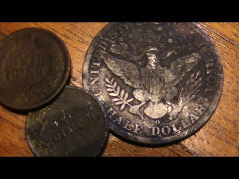 Metal detecting Illinois river finds