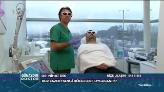Buz Lazer Epilasyon Uygulaması - Dr. Nihat Dik