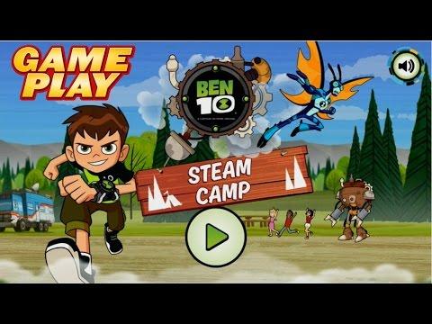 STEAM CAMP GAMEPLAY 1080HD | BEN 10 2016 JUEGO