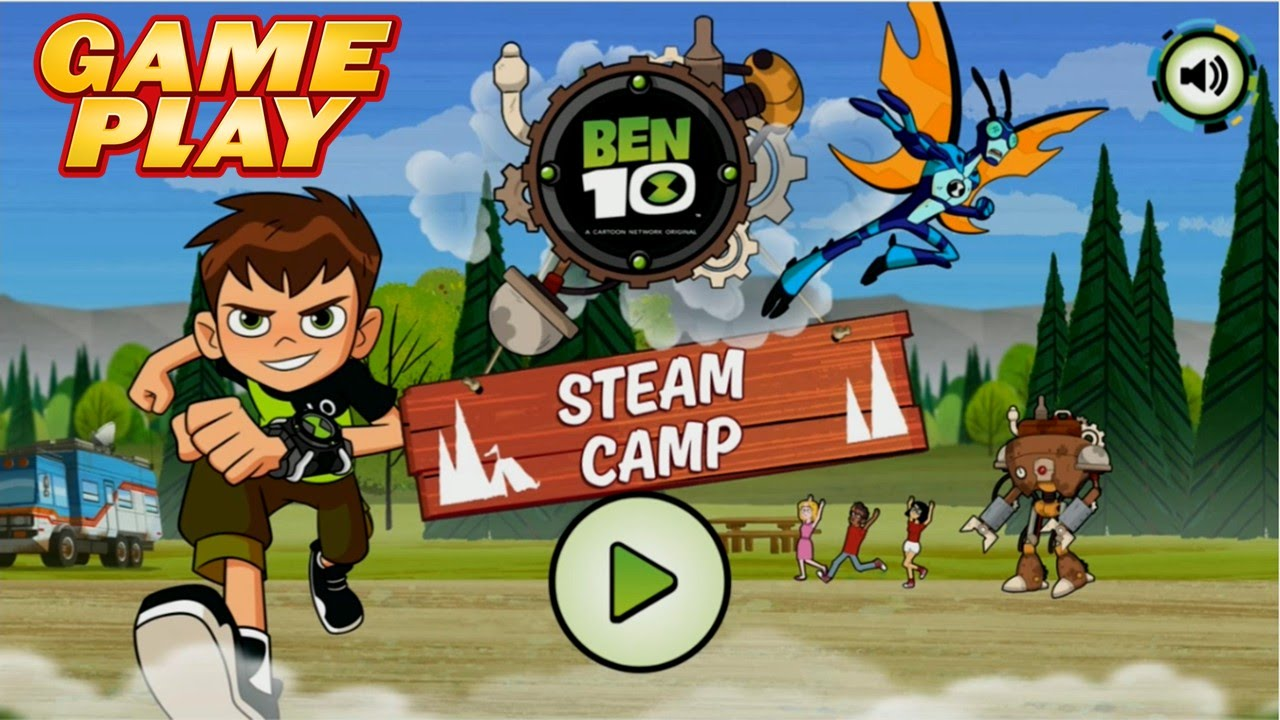STEAM CAMP GAMEPLAY 1080HD  BEN 10 2016 JUEGO  YouTube