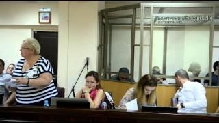 Адвокат Валентина Хорева выступила в военном суде с заявлением(, 2015-07-05T22:16:41.000Z)