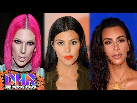 Jeffree Star CALLS OUT YouTuber - Kourtney Kardashian SLAMS Kim Kardashian For Being 'EVIL' (DHR)