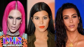 Jeffree Star CALLS OUT YouTuber - Kourtney Kardashian SLAMS Kim Kardashian For Being 'EVIL' (DHR)