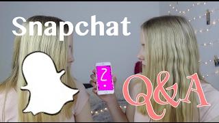 Haben wir einen Freund? Lisa und Lena getroffen? Snapchat Q&A I Finja and Svea