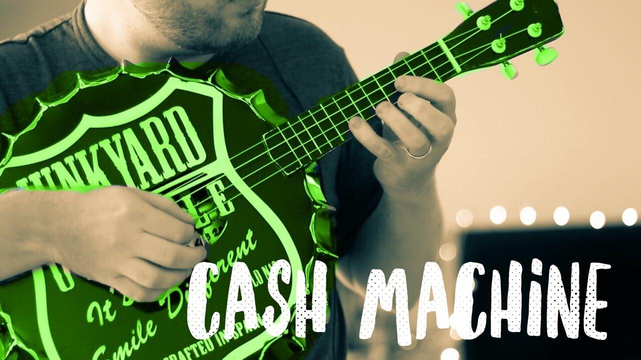 cash machine hard fi junkyard ukulele bass ukulele cover youtube. Black Bedroom Furniture Sets. Home Design Ideas