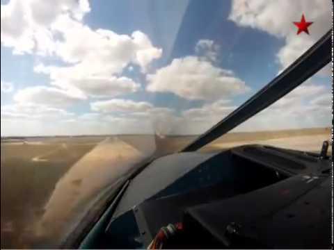 Video do phi công chiến đấu Nga quay trong cuộc tập trận