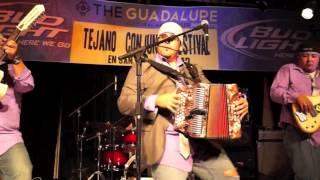 Albert Zamora perfroming Prieta Casada at the 2012 Tejano Conjunto Festival