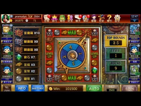 星城Online 俠盜王子  BONUS GAME BET 3500
