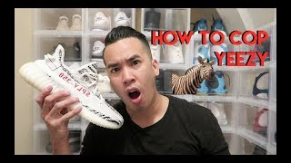 HOW TO COP YEEZY ZEBRA RESTOCK JUNE 24TH 2017