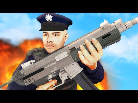 GTA 5 COP MOD - I GOT A NEW GUN! (GTA 5 COP LSPDFR)