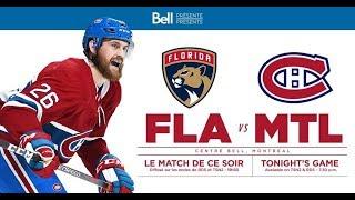 NHL 19 PS4. REGULAR SEASON 2018-2019: Florida PANTHERS VS Montreal CANADIENS. 01.15.2019. (NBCSN) !