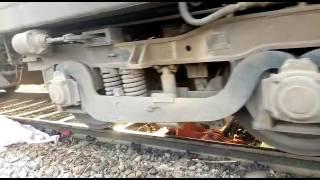 Train passed over dead body on railway track in Varanasi