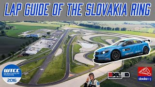 Slovakia Ring lap guide in the WTCR Volvo |Raceroom experience