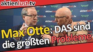 Professor Max Otte auf der Roten Couch: Einmal um die ganze Börsenwelt | aktienlust | Jürgen Schmitt