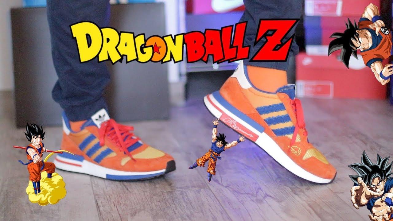 2116acc7960 Unboxing Dragon Ball Z adidas Goku ZX 500 RM