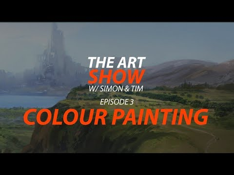 The Art Show Ep.3 Colour Painting Techniques