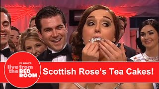 Scottish Rose Stuffing Her Mouth With Tea Cakes!