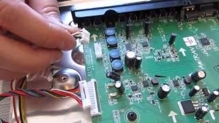 "LG 42LV4400-UA 42"" LED TV main board replacement - fix for no power (red light, no blue light)"