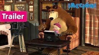 Masha y el Oso - ¡Acción! (Trailer)