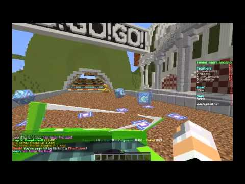 Minecraft Mini-games: Turbo Kart Racers! w/ Vgg!
