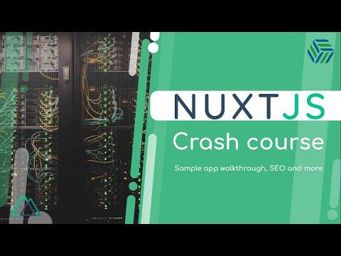 NuxtJS Crash Course | Sample App Walkthrough, SEO and More | SSR for Vue Apps