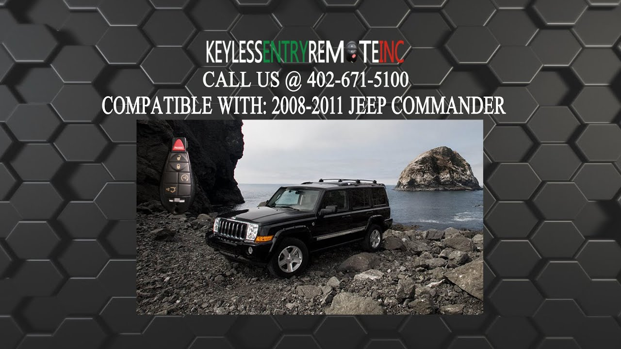 How To Replace Jeep Commander Key Fob Battery 2008 2009 2010 2017