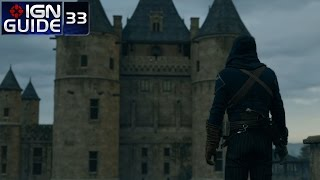 Assassin's Creed Unity 100% Sync Walkthrough - Sequence 12, Memory 03: The Temple (pt 01)