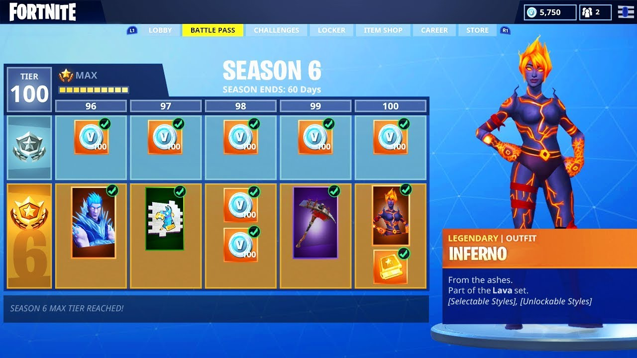 IMPORTANT Season 3 ended on April 30th 2018 and the rewards listed below are NO LONGER ACQUIRABLE if you did not get them already The current season is Season 5