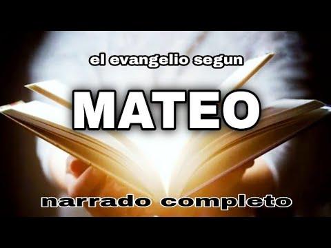 Download el evangelio según MATEO (AUDIOLIBRO) narrado completo