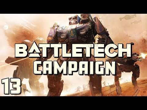 Battletech Campaign Lets Play  Supply Lines  Part 13