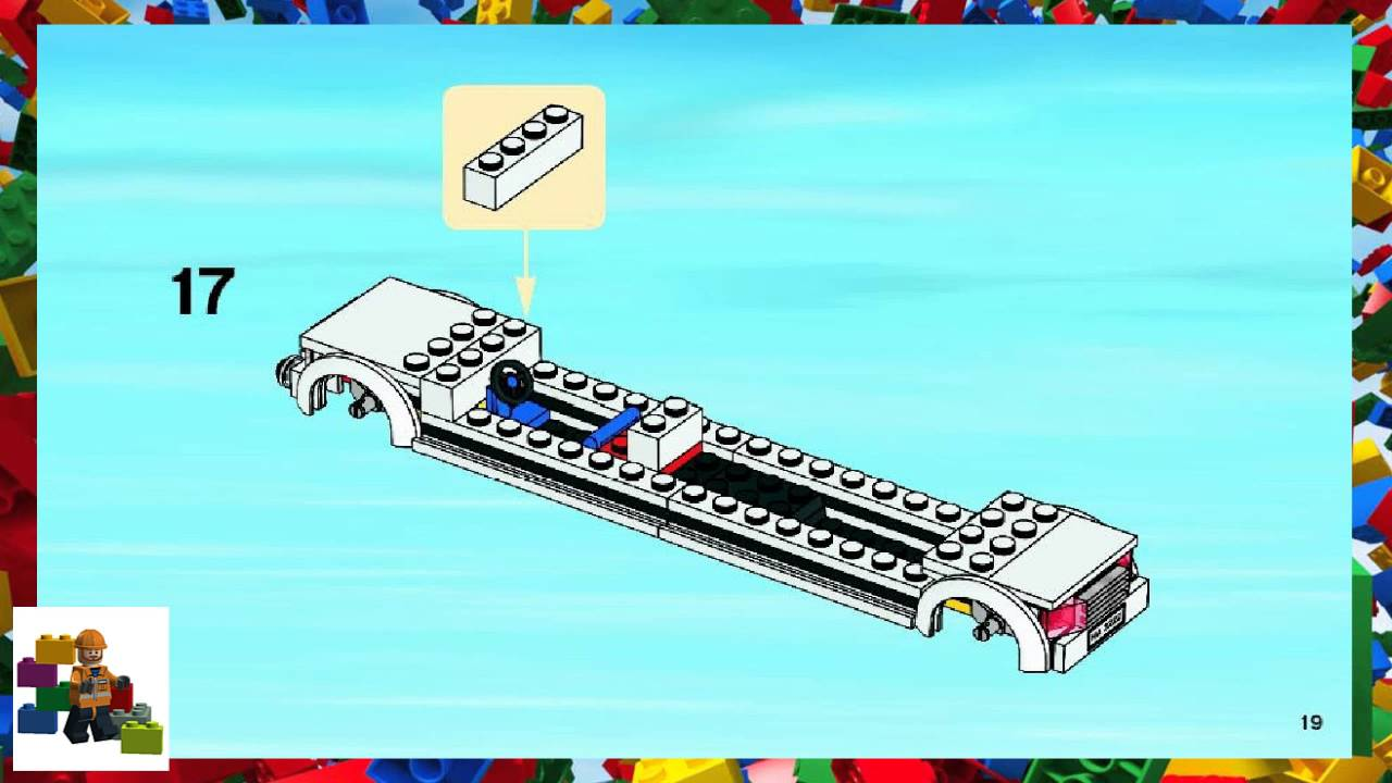 Lego Instructions City Airport 3222 Helicopter And Limousine