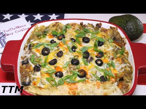 How To Make Ground Beef Enchiladas~Best Ground Beef Recipes~Toaster Oven Recipe