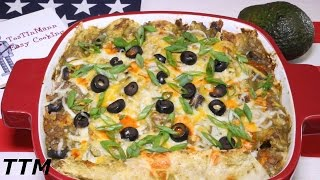 How to Make Ground Beef Enchiladas~Best Ground Beef Recipes~Toaster Oven Recipe
