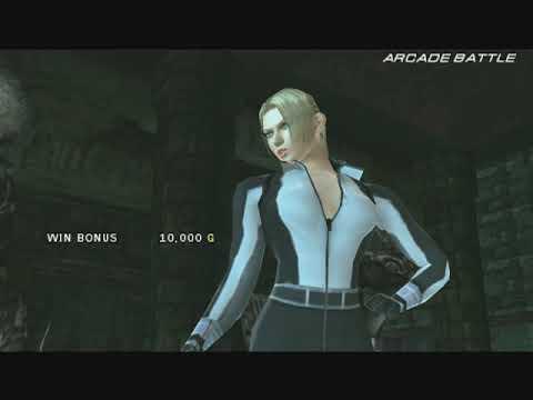 鉄拳6 Tekken 6: Bloodline Rebellion - Bandai Namco Games 2009 - Arcade - Nina ( Ultra Hard ) PSP