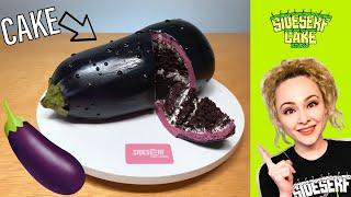 How To Make A REALISTIC Eggplant CAKE