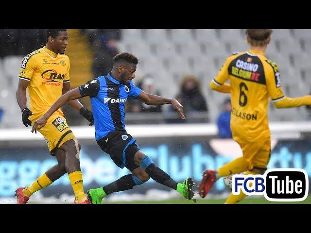 2017-2018 - Jupiler Pro League - 18. Club Brugge - Sporting Lokeren 3-1