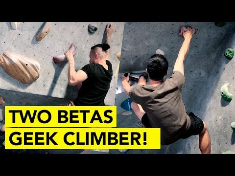 Breaking down beta for Beginner Climbers! with Geek Climber