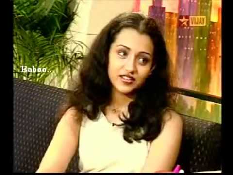 Trisha's Interview before Cine Entry.. Naiyandi Darbar! Travel Video