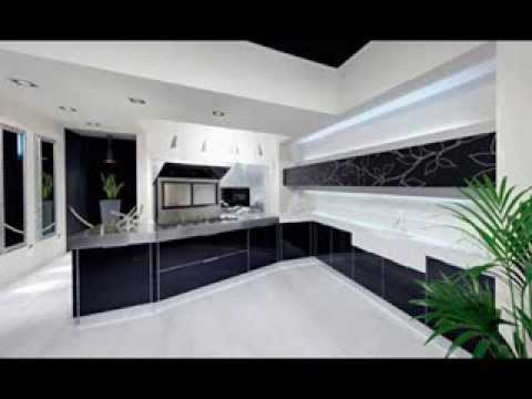 Modern White And Black Kitchen Design Ideas From Decoradvisor Youtube