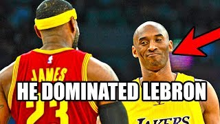 The Time Kobe Bryant OWNED LeBron James (Ft. NBA, Michael Jordan, Lakers, Defense)