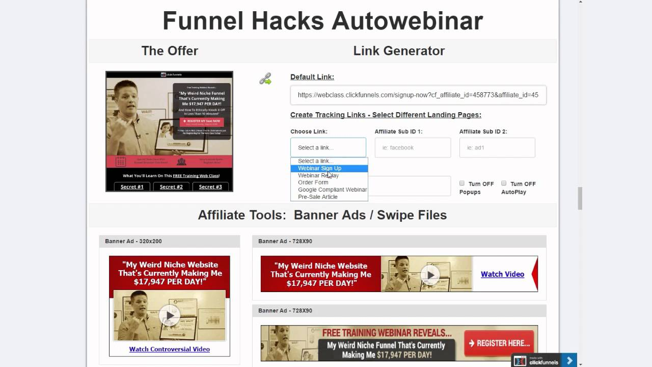 Fascination About Where Is My Clickfunnels Affiliate Link
