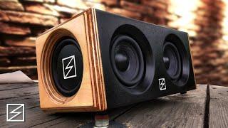 DIY Portable Bluetooth Speąker 2x15W MEGA BASS [SOUND TEST] | by Sebastian