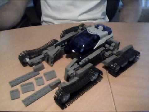 How To Build Lego Halo Scorpion Tank