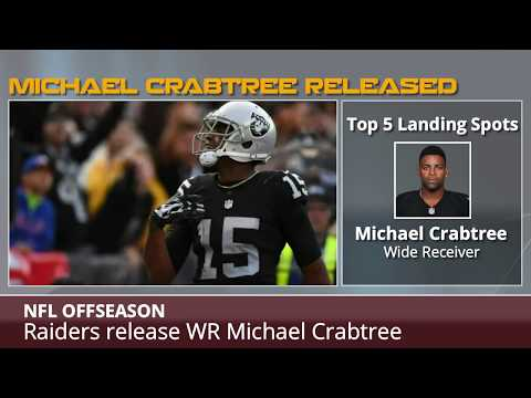 Michael Crabtree: 5 NFL Teams That Could Sign Him Now That The Raiders Cut Him